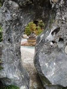 bonsaiboom geheim verborgen tuin